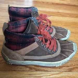 Timberland patterned boots